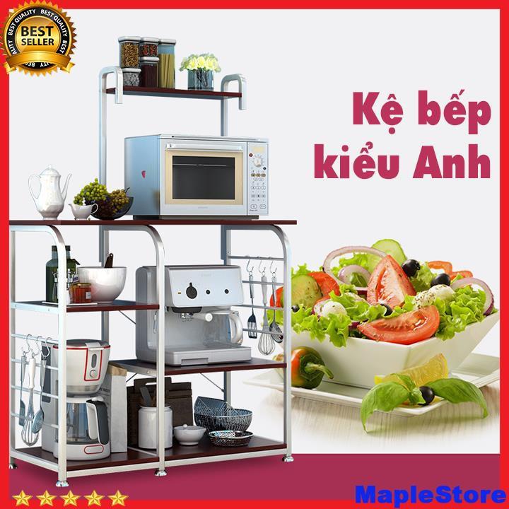 Kệ để đồ nhà bếp,lò vi sóng, lò nướng đa năng nhiều tầng T156 tiết kiệm diện tích nhà bếp