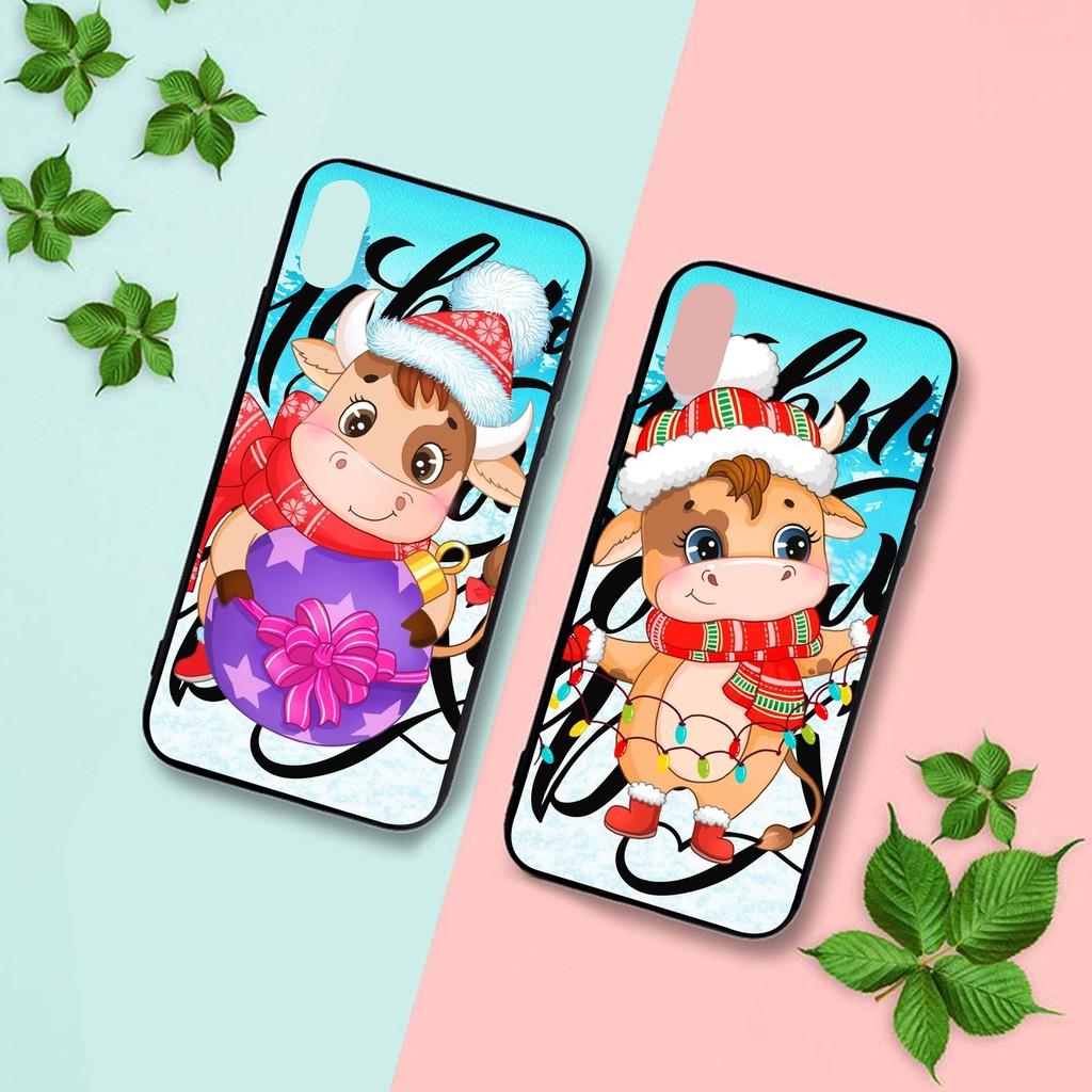 Ốp lưng iphone cứng Trâu Lạnh  6 6S 6Plus 6S Plus 7 8 7Plus 8Plus X XSMax 11 Pro ProMax - Xưởng Ốp Việt Nam M834