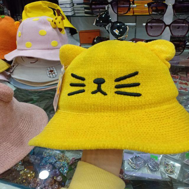 Mũ Miu Miu Tai Mèo Kêu Cho Bé