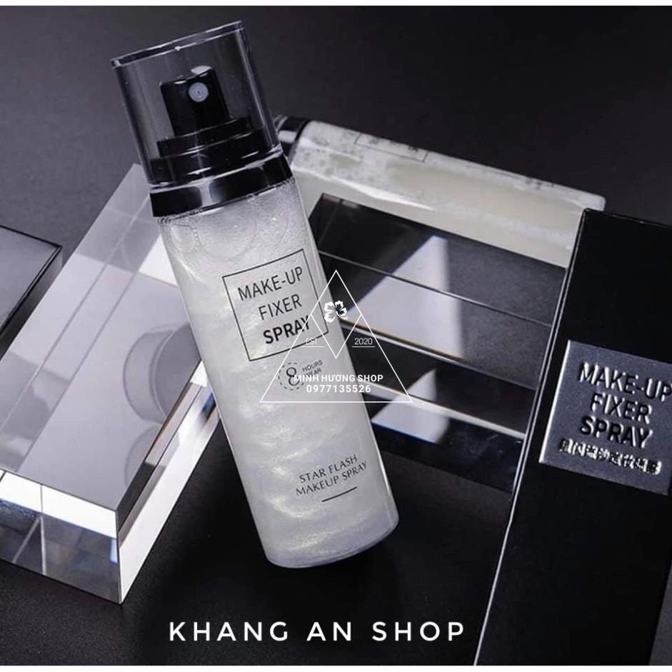 Xịt khoá nền Make-Up Fixer Spray  giữ lớp trang điểm , kiểm soát dầu , không gây bết dính