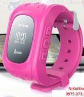 Đồng hồ thông minh định vị GPS- GW300 Hồng