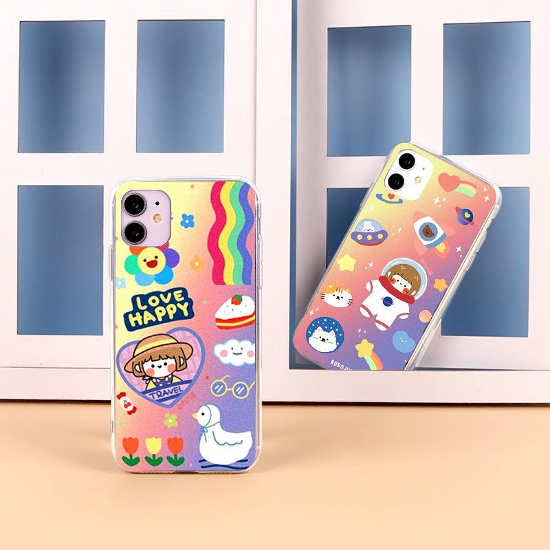 Ốp lưng iphone Sắc Màu 6 6S 6Plus 6S Plus 7 8 7Plus 8Plus X XSMax 11 ProMax XR - Xưởng Ốp Việt Nam M810