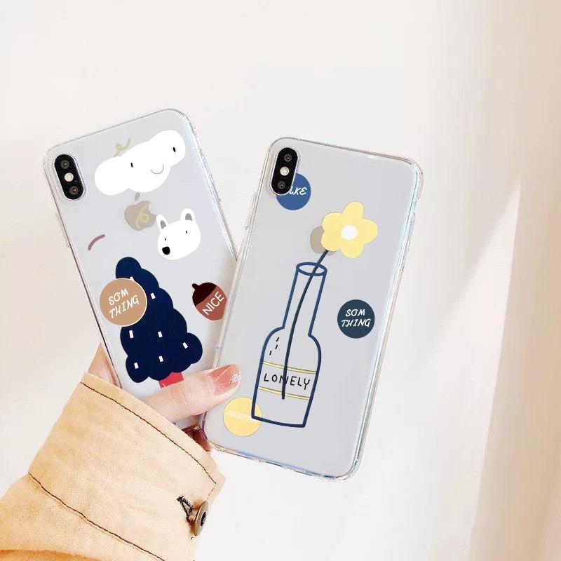 Ốp lưng iphone Hoa 6 6S 6Plus 6S Plus 7 8 7Plus 8Plus X XSMax 11 ProMax XR - Xưởng Ốp Việt Nam M500