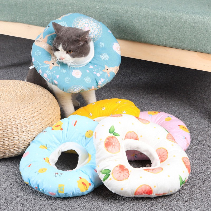 Vòng Bảo Vệ & Gối Ngủ Cho Mèo – Mã PKCMK24
