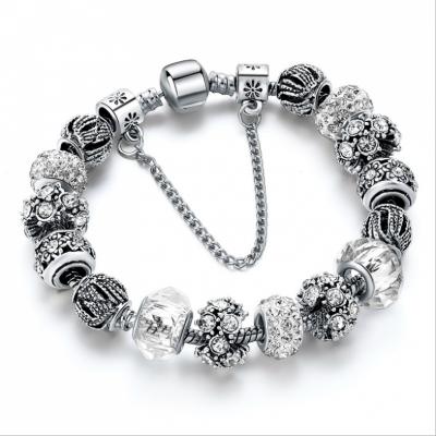 Vòng tay Chapi Silver Diamond ( Kim Cương Bạc) – MS:VT06