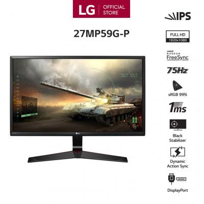 """Màn hình LG 27MP59G-P 27"""" FullHD 1ms 75Hz FreeSync IPS - Hàng chính hãng"""