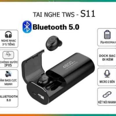 Tai nghe Bluetooth S11 chống nước pin dự phòng 4800mh