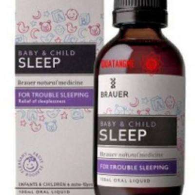 Siro Brauer Baby Child Sleep Của Úc Hỗ Trợ Giấc Ngủ Cho Bé - 100ml