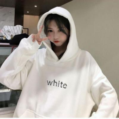 Áo Hoodie Nữ WHITE