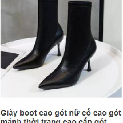 Boot cao gót
