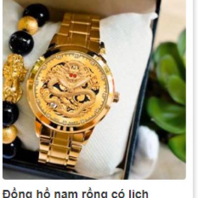 Đồng hồ nam rồng có lịch