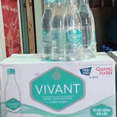 Nước khoáng vivant chai 500ml(thùng 24 chai)