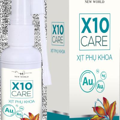 XỊT PHỤ KHOA X10 CARE