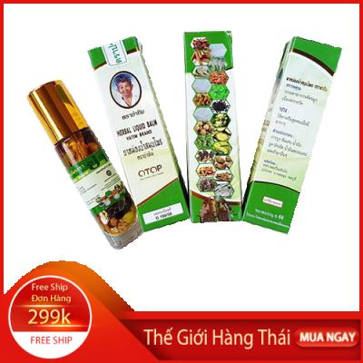 Dầu Thảo Dược 22 vị thảo dược Thailand 8ml
