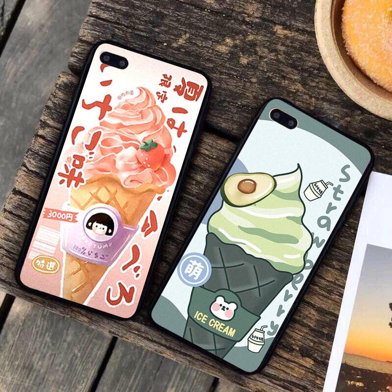 Ốp lưng iphone cứng Dâu Bơ 6 6S 6Plus 6S Plus 7 8 7Plus 8Plus X XSMax 11 11 Pro 11 ProMax XR - Xưởng Ốp Việt Nam M820