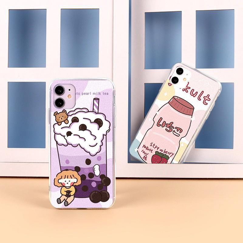 Ốp lưng iphone Sữa Chua 6 6S 6Plus 6S Plus 7 8 7Plus 8Plus X XSMax 11 ProMax XR - Xưởng Ốp Việt Nam M817