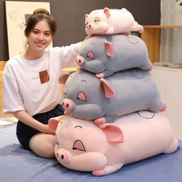 Gối ôm lợn phê cần béo ú