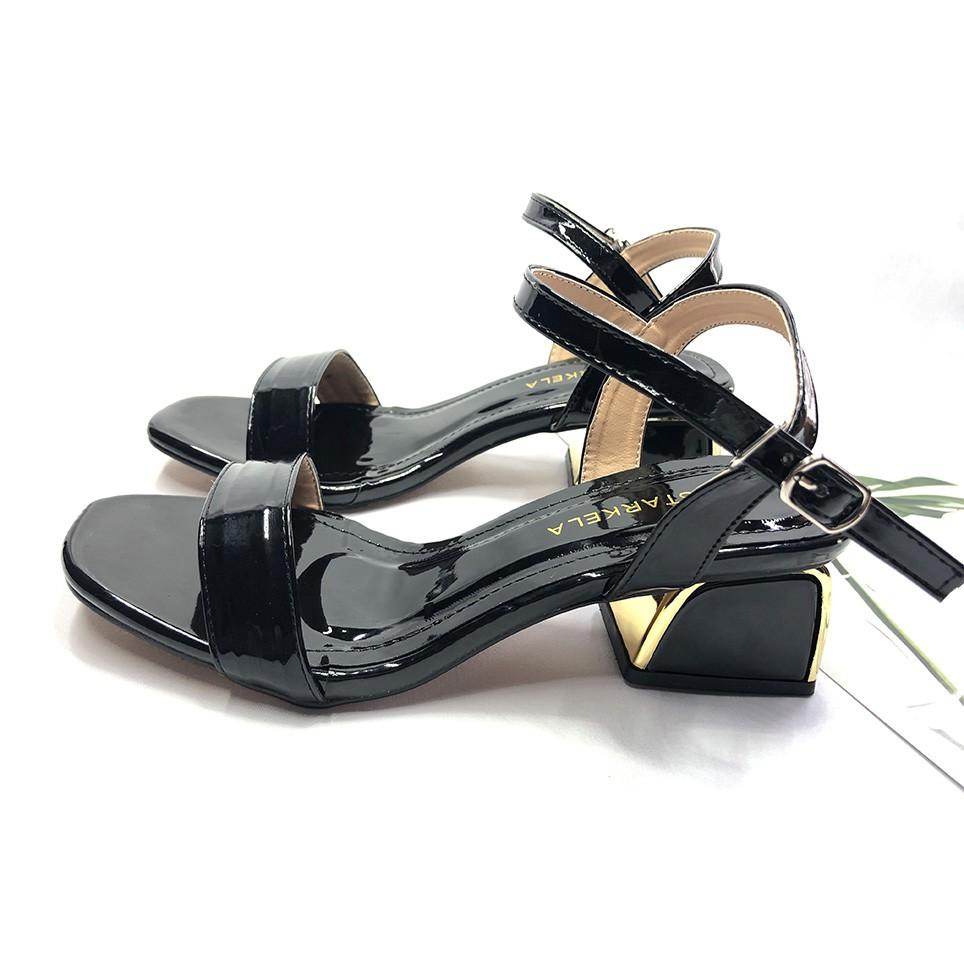 Giày Cao Gót👠 Sandal Cao Gót Sang Chảnh Thời Trang Cao 5cm Mẫu Mới 2021 Dự Tiệc/ Đi Làm Văn Phòng