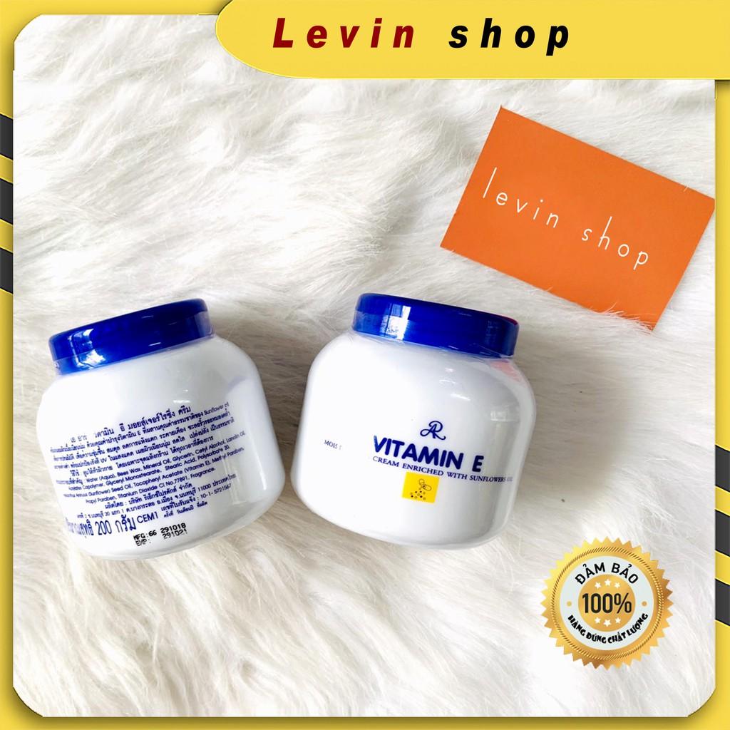 [Chính hãng] Kem dưỡng ẩm trắng da Aron Vitamin E  - Thái Lan (200g)