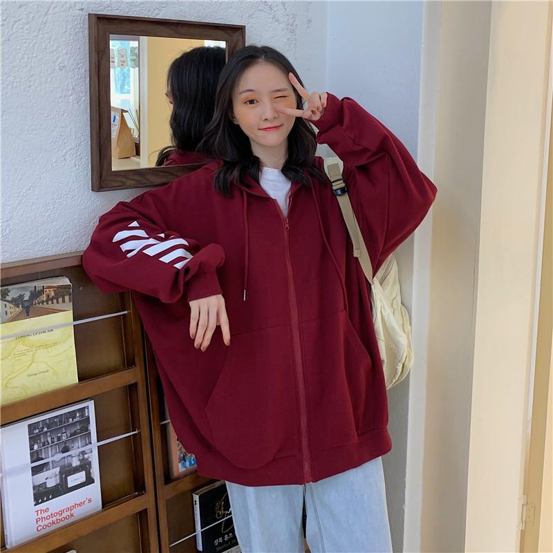 Áo Khoác Ulzzang Nữ Tay Rộng Phong Cách Hàn Quốc HD61 - Liti shop