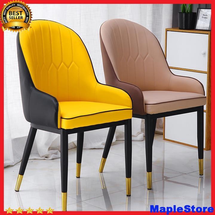 Ghế Monet nệm chân sắt sơn tĩnh điện bọc đồng,ghế ăn - ghế văn phòng - ghế cafe
