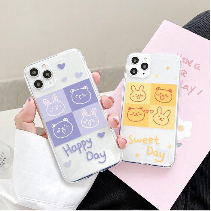 Ốp lưng iphone Nền Tím Vàng 6 6S 6Plus 6S Plus 7 8 7Plus 8Plus X XSMax 11 ProMax XR - Xưởng Ốp Việt Nam M544
