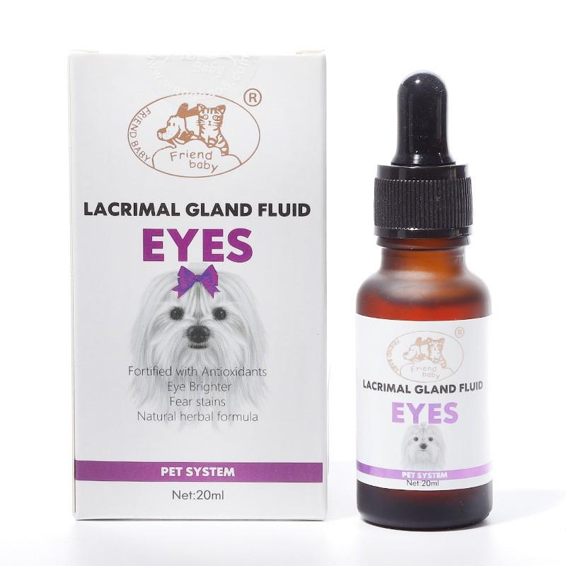 Siro Uống Dành Cho Chó Bị Chảy Nước Mắt Lacrimal Gland Fluid EYES 20ml – Mã PKCMK39