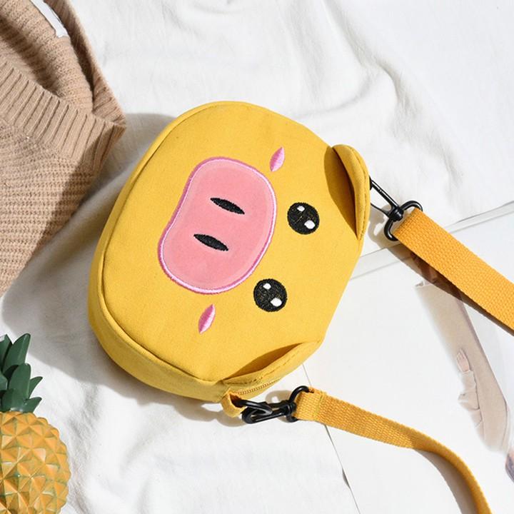 TÚI ♥️FREESHIP♥️ Túi đeo chéo thời trang Hazo chú heo đáng yêu