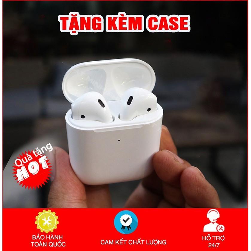 Tai Nghe Airpods 2 Check Setting Cao Cấp💎 Tai Nghe Bluetooth Không Dây Airpod 2 - Đổi Tên - Định Vị - Sạc Không Dâ