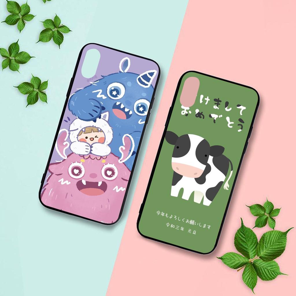 Ốp lưng iphone cứng Trâu và Quỉ  6 6S 6Plus 6S Plus 7 8 7Plus 8Plus X XSMax 11 Pro ProMax - Xưởng Ốp Việt Nam M831