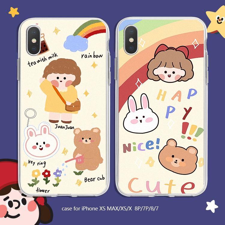 Ốp lưng iphone Cute Girl 6 6S 6Plus 6S Plus 7 8 7Plus 8Plus X XSMax 11 11 Pro 11 ProMax XR - Xưởng Ốp Việt Nam M798