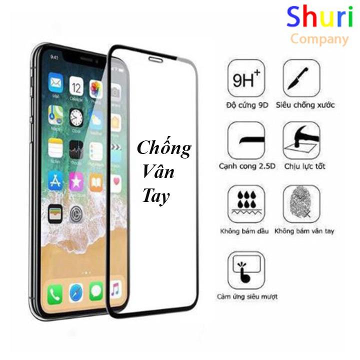 Kính Cường Lực IPhone Chống Vân Tay - Cường Lực Full Màn Hình iPhone