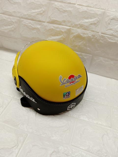 Mũ bảo hiểm có kính Vespa đẹp