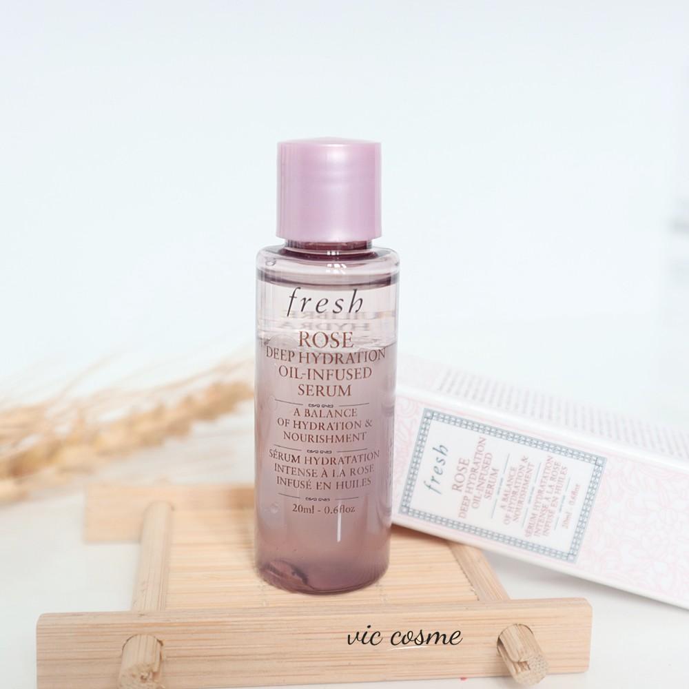 Tinh chất Serum Fresh Rose Deep Hydration Oil-Infused Serum mini 20ml
