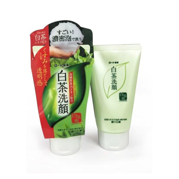 Sữa rửa mặt ngừa mụn trà xanh Rohto Shirochasou Nhật Bản