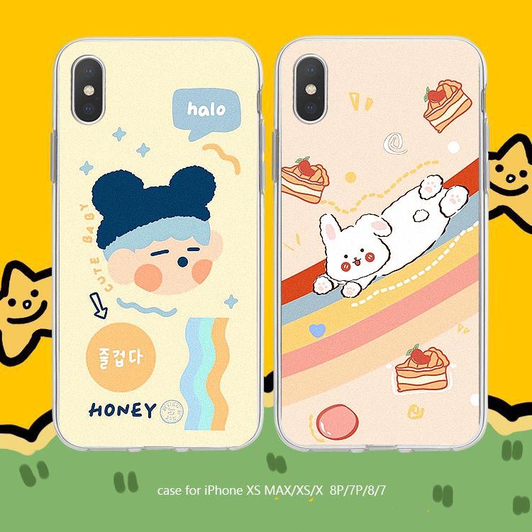 Ốp lưng iphone Cậu bé thỏ 6 6S 6Plus 6S Plus 7 8 7Plus 8Plus X XSMax 11 11 Pro 11 ProMax XR - Xưởng Ốp Việt Nam M799