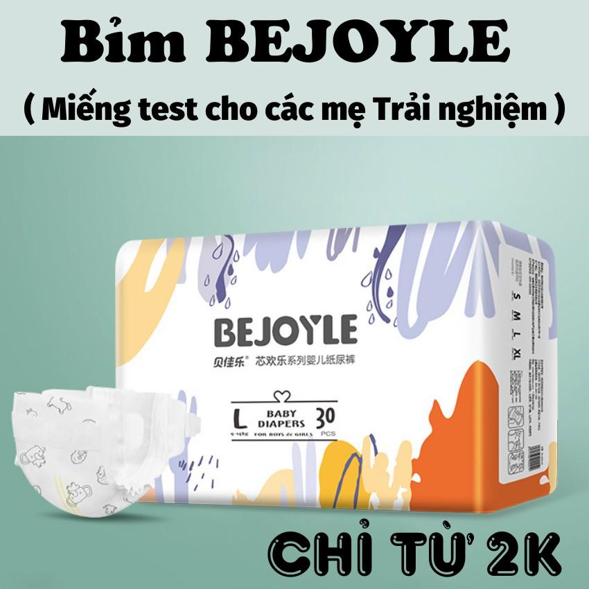[ MIẾNG TEST] Bỉm Bejoyle dán/ quần size S1, M1, L1, XL1, XXL1 ( Bejoyie)