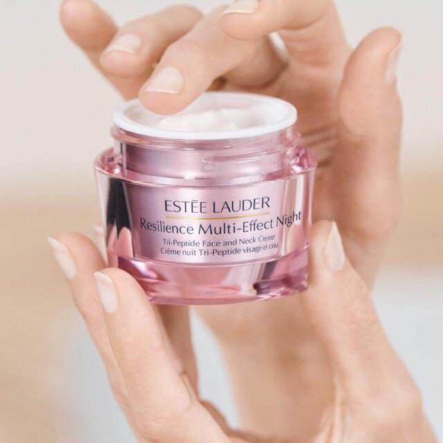 [AUTH] Kem dưỡng ban đêm Estee Lauder Resilience Multi-Effect Night Tri-Peptide Face and Neck Creme 15ml