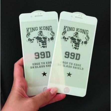 Kính cường lực điện thoại 99D - Cường lực iphone Full màn hình King Kong