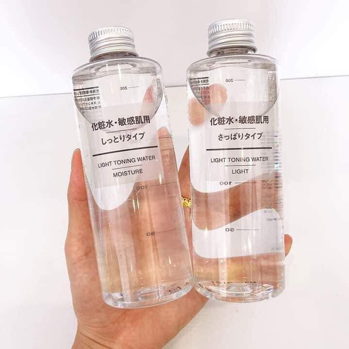 Nước hoa hồng Toner MUJI cân bằng da 200ml Nhật