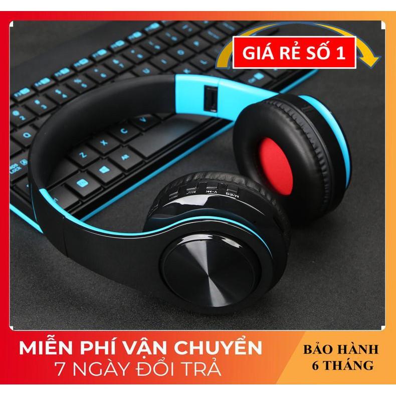 Tai nghe Chụp Tai ❤️FREESHIP❤️ Tai Nghe Bluetooth Âm Thanh Sống Động - Tai Nghe Không Dây HZ-B7 Có Khe Thẻ Nhớ