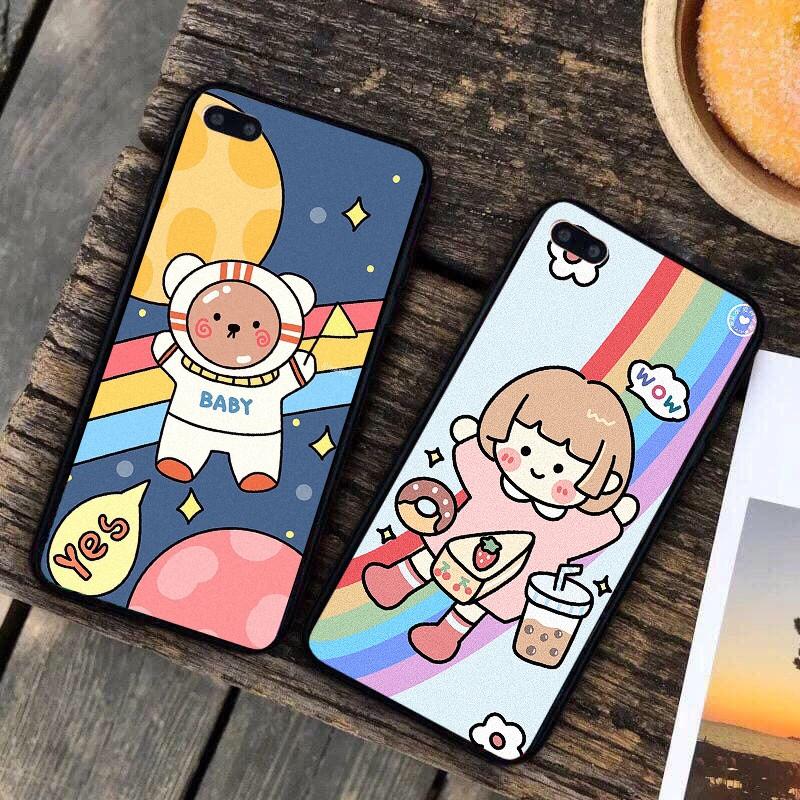 Ốp lưng iphone cứng Kem Bánh 6 6S 6Plus 6S Plus 7 8 7Plus 8Plus X XSMax 11 11 Pro 11 ProMax XR - Xưởng Ốp Việt Nam M821