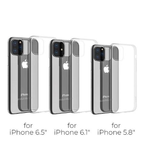 [Mã ELORDER5 giảm 10k đơn 20k] [Miễn Phí Vận Chuyển 50K] Ốp Điện Thoại Silicon Trong Suốt Cho iPhone 11 Pro