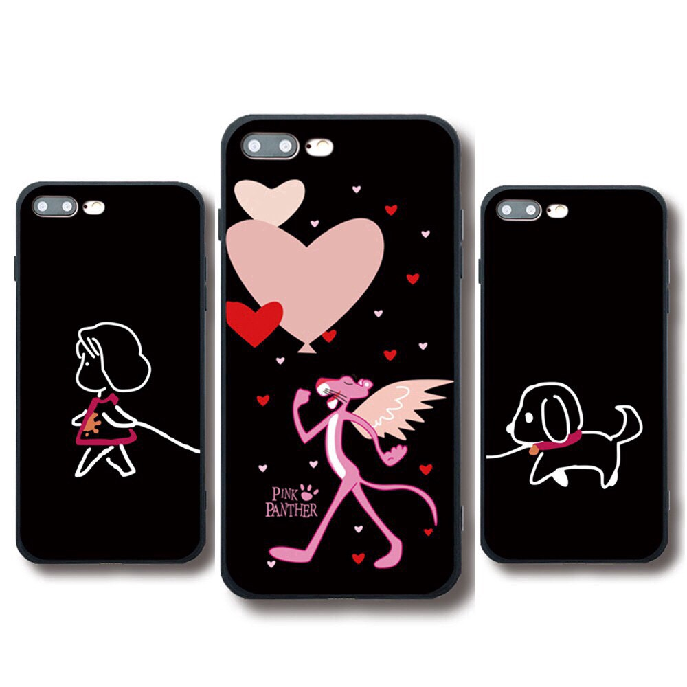 Ốp lưng iphone  Pink Panther 6 6S 6Plus 6S Plus 7 8 7Plus 8Plus X XSMax 11 ProMax XR - Xưởng Ốp Việt Nam M182