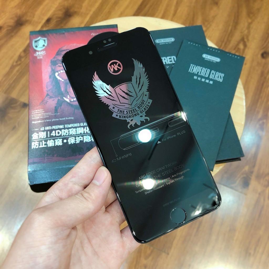 [Mã ELFLASH5 giảm 20K đơn 50K] Miếng Dán Điện Thoại 🌼 FreeShip Kính Cường Lực Chống Nhìn Trộm King Kong cho iPhone