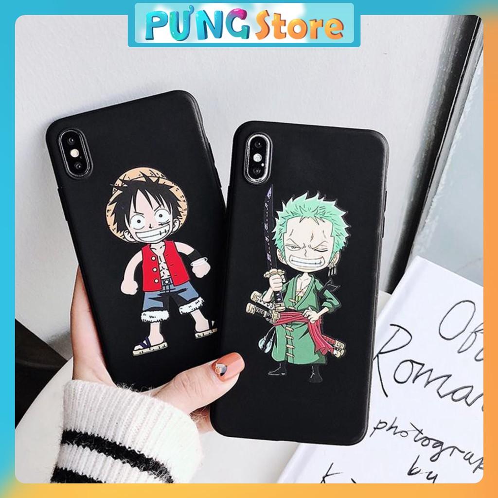 ốp lưng iphone One piece ip 6 6s 6splus 7 8 plus xs xr xs max 11 pro max