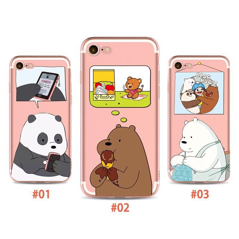 Ốp lưng iphone Gấu Đáng Thương 6 6S 6Plus 6S Plus 7 8 7Plus 8Plus X XSMax 11 ProMax XR - Xưởng Ốp Việt Nam M29