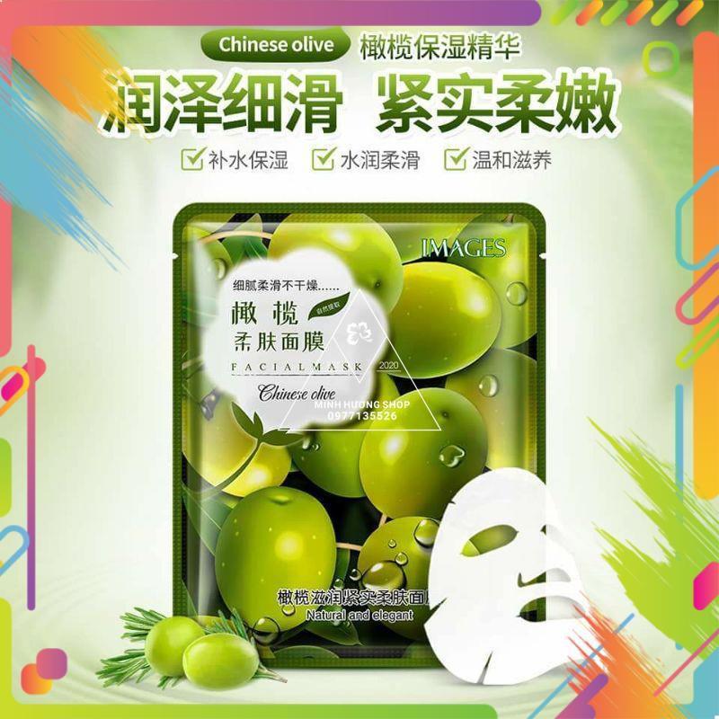 Mặt nạ hoa quả Lựu, Oliu, Nha đam,Oải hương Pure Source
