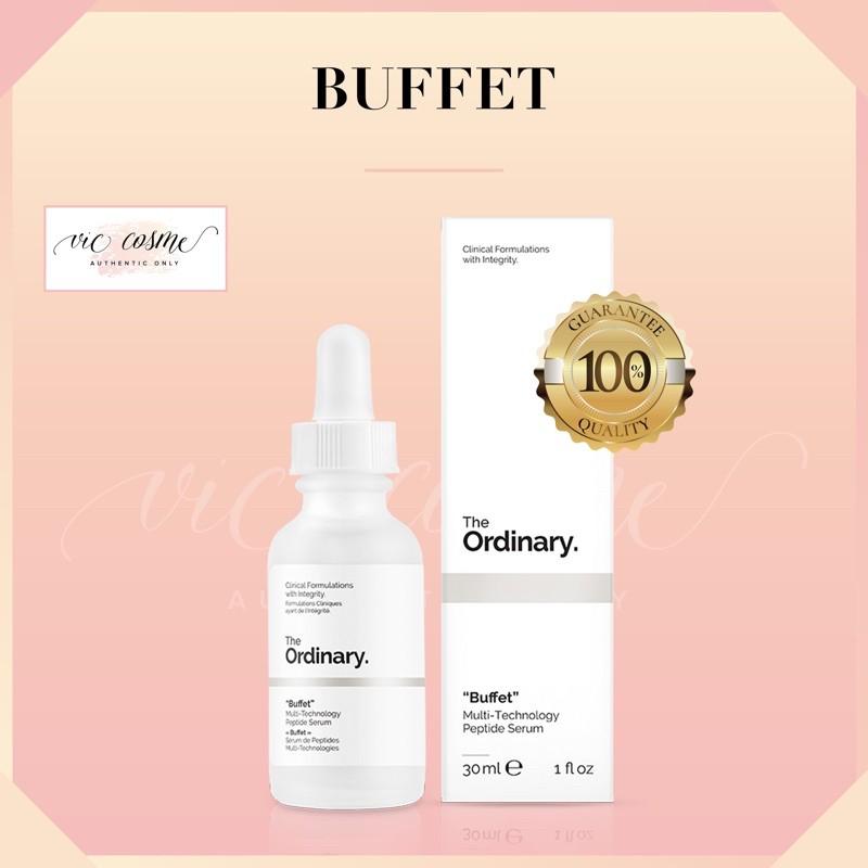 Serum Chống Lão Hoá The Ordinary Buffet 30ml