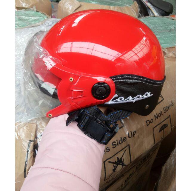 Combo 5 mũ bảo hiểm kính vespa đẹp